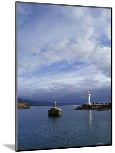 Lighthouse and Beacon at the Mariner Entrance to a Safe Port, Australia-Jason Edwards-Mounted Photographic Print