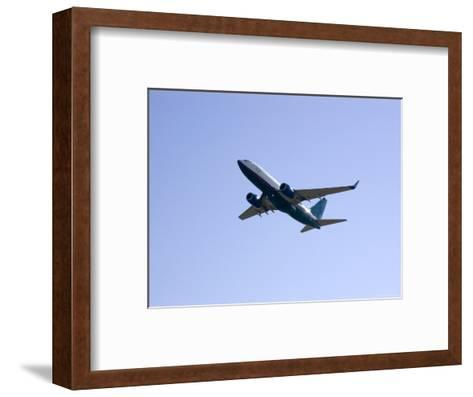 Plane Takes Off, Washington, D.C.-Stacy Gold-Framed Art Print
