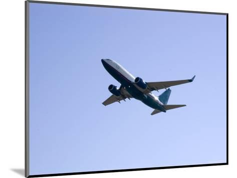 Plane Takes Off, Washington, D.C.-Stacy Gold-Mounted Photographic Print