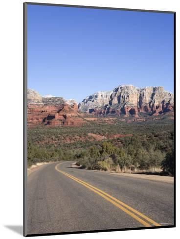 Road in Sedona Arizona, USA-John Burcham-Mounted Photographic Print