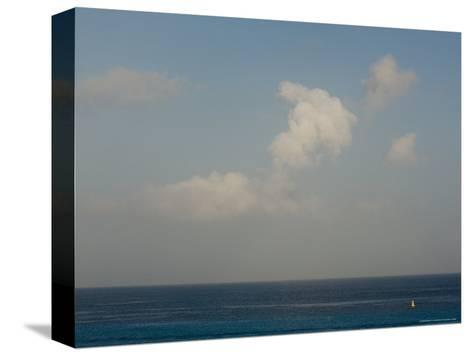 Looking Across the Caribbean Toward the Yucatan Mainland, Cozumel, Mexico-Michael S^ Lewis-Stretched Canvas Print