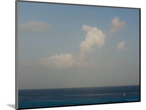 Looking Across the Caribbean Toward the Yucatan Mainland, Cozumel, Mexico-Michael S^ Lewis-Mounted Photographic Print