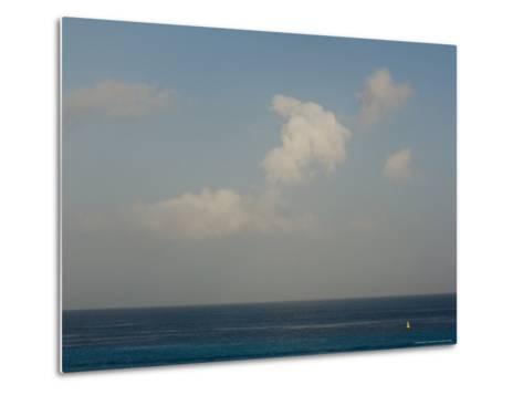Looking Across the Caribbean Toward the Yucatan Mainland, Cozumel, Mexico-Michael S^ Lewis-Metal Print