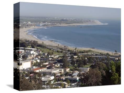San Buenaventura State Beach and Ventura Harbor, California-Rich Reid-Stretched Canvas Print