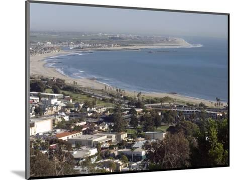 San Buenaventura State Beach and Ventura Harbor, California-Rich Reid-Mounted Photographic Print