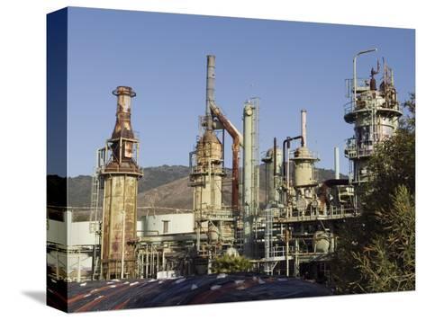 Retired Petrochem Refinery, Ventura, California-Rich Reid-Stretched Canvas Print