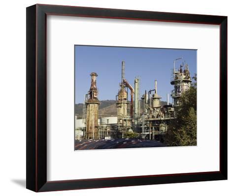 Retired Petrochem Refinery, Ventura, California-Rich Reid-Framed Art Print