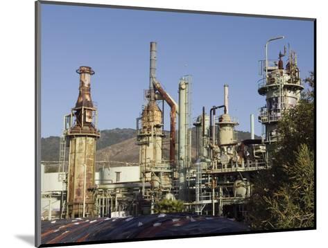 Retired Petrochem Refinery, Ventura, California-Rich Reid-Mounted Photographic Print