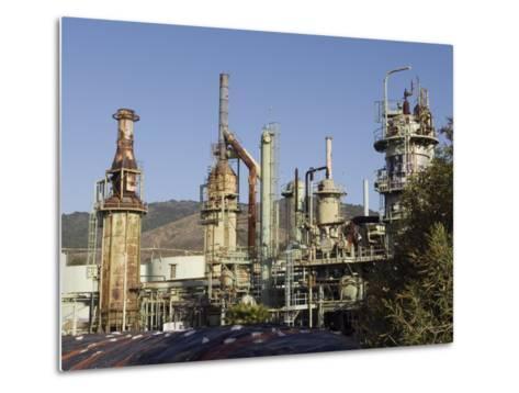 Retired Petrochem Refinery, Ventura, California-Rich Reid-Metal Print