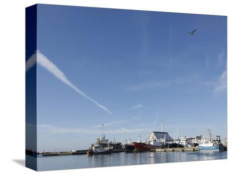 Skagen is Hosting the Last of the Danish Fishing Fleet, Denmark-Brimberg & Coulson-Stretched Canvas Print