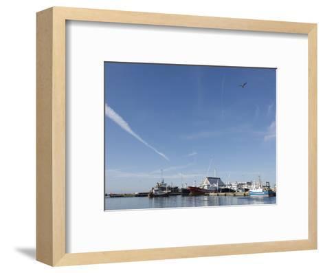 Skagen is Hosting the Last of the Danish Fishing Fleet, Denmark-Brimberg & Coulson-Framed Art Print