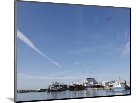 Skagen is Hosting the Last of the Danish Fishing Fleet, Denmark-Brimberg & Coulson-Mounted Photographic Print