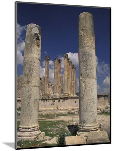 Temple of Artemis in Jaresh, Jordan-Richard Nowitz-Mounted Photographic Print