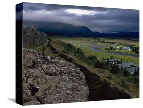 Thingvellir, Iceland, Site of the Original Parliament-Brimberg & Coulson-Stretched Canvas Print