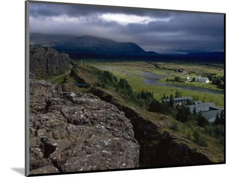Thingvellir, Iceland, Site of the Original Parliament-Brimberg & Coulson-Mounted Photographic Print