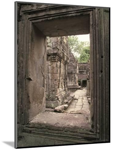 Temples of Angkor, Ta Prohm, Cambodia-Richard Nowitz-Mounted Photographic Print