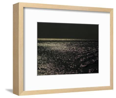 Sunlight Sparkling on the Water at Day's End-Todd Gipstein-Framed Art Print