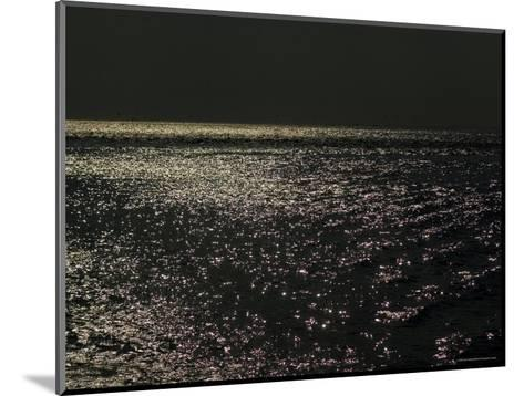 Sunlight Sparkling on the Water at Day's End-Todd Gipstein-Mounted Photographic Print