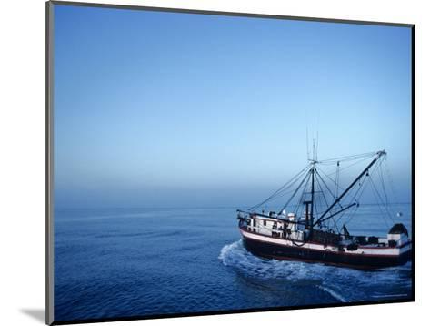 Shrimp Boat in the Gulf of Mexico-Kenneth Garrett-Mounted Photographic Print