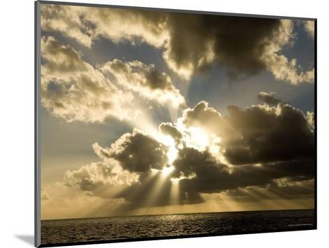 Sunset over the Pacific-Tim Laman-Mounted Photographic Print