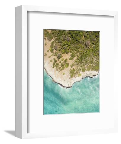 The Verdant Northern Tip of Pemba Island, Zanzibar-Michael Fay-Framed Art Print