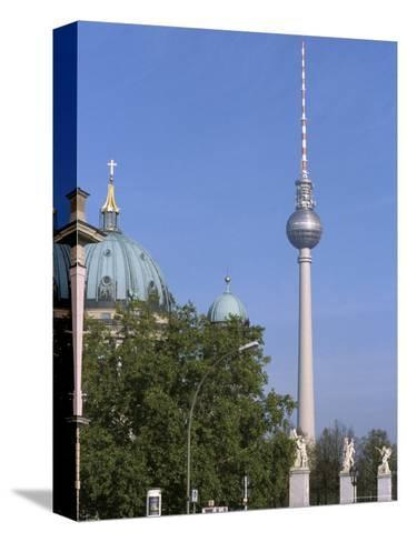 The Second Tallest Radio Tower in Europe Looms over Berlin, Germany-Jason Edwards-Stretched Canvas Print