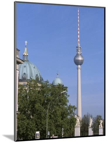 The Second Tallest Radio Tower in Europe Looms over Berlin, Germany-Jason Edwards-Mounted Photographic Print