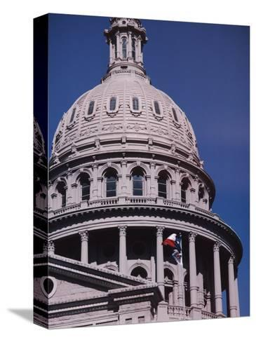 The Domed State Capital Building in Austin, Texas-Ira Block-Stretched Canvas Print