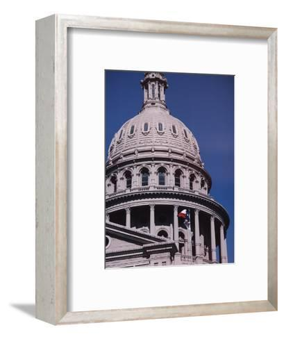 The Domed State Capital Building in Austin, Texas-Ira Block-Framed Art Print
