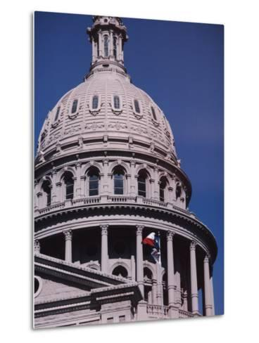 The Domed State Capital Building in Austin, Texas-Ira Block-Metal Print