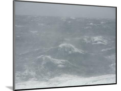 Spindrift Blows Off Waves in Gale Force Winds-Ralph Lee Hopkins-Mounted Photographic Print