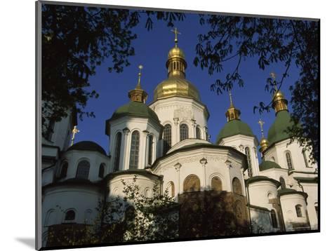 Santa Sophia Church Exterior, Kiev, Ukraine-James L^ Stanfield-Mounted Photographic Print