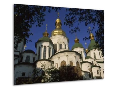 Santa Sophia Church Exterior, Kiev, Ukraine-James L^ Stanfield-Metal Print
