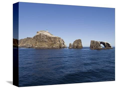 West Anacapa Island in the Channel Islands National Park, California-Rich Reid-Stretched Canvas Print