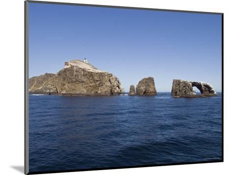 West Anacapa Island in the Channel Islands National Park, California-Rich Reid-Mounted Photographic Print