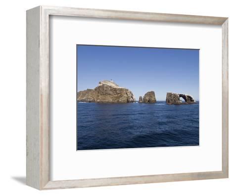 West Anacapa Island in the Channel Islands National Park, California-Rich Reid-Framed Art Print