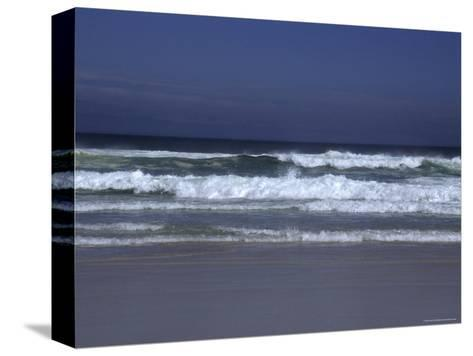 Waves Roll to Shore in the Pacific Ocean, Ventura, California-Stacy Gold-Stretched Canvas Print