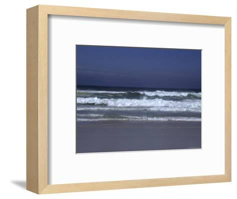 Waves Roll to Shore in the Pacific Ocean, Ventura, California-Stacy Gold-Framed Art Print