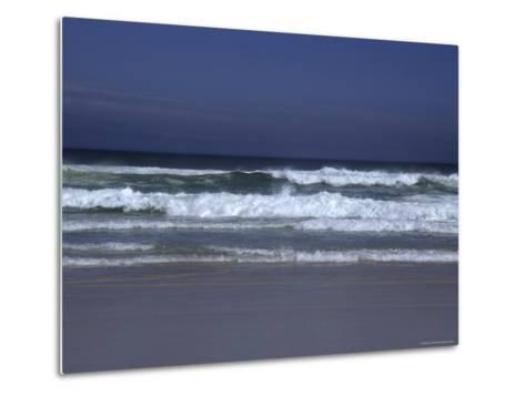 Waves Roll to Shore in the Pacific Ocean, Ventura, California-Stacy Gold-Metal Print