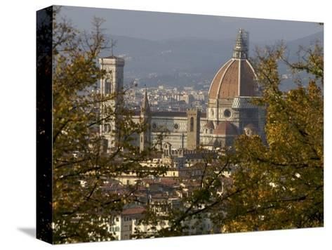 View of Duomo Santa Maria del Fiore, Florence, Italy-Brimberg & Coulson-Stretched Canvas Print