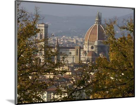 View of Duomo Santa Maria del Fiore, Florence, Italy-Brimberg & Coulson-Mounted Photographic Print