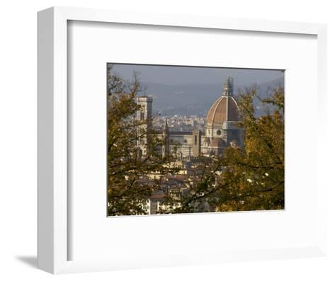 View of Duomo Santa Maria del Fiore, Florence, Italy-Brimberg & Coulson-Framed Art Print
