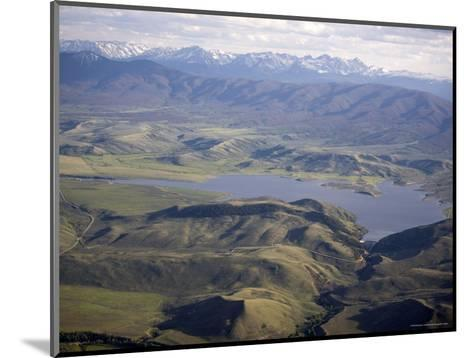 Williams Fork Reservoir Provides Water for Denver 70 Miles Away, Colorado-Michael S^ Lewis-Mounted Photographic Print