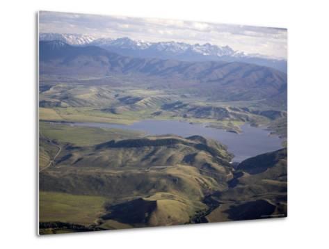 Williams Fork Reservoir Provides Water for Denver 70 Miles Away, Colorado-Michael S^ Lewis-Metal Print