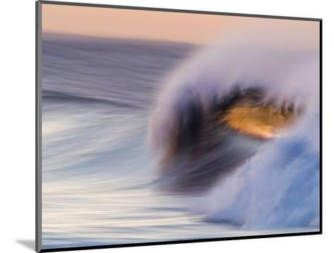 Waves Breaking Before Sunrise at Emma Wood State Beach, Ventura, California-Rich Reid-Mounted Photographic Print