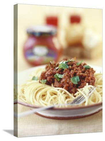 Spaghetti Bolognese-Sam Stowell-Stretched Canvas Print
