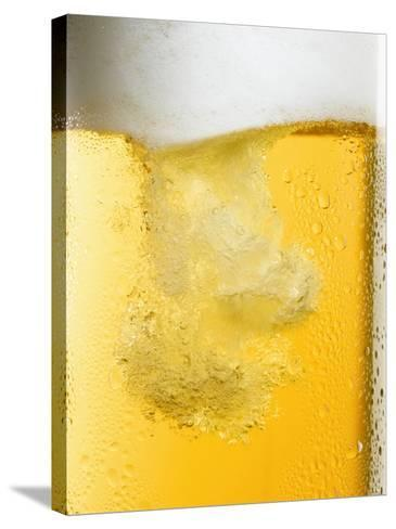 Beer Being Poured-Dirk Olaf Wexel-Stretched Canvas Print