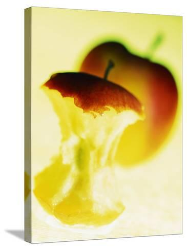 Apple Core-Jo Kirchherr-Stretched Canvas Print