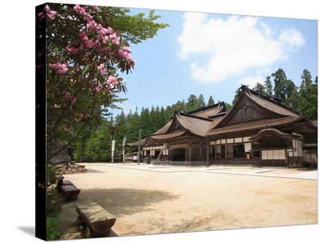 Kongobuji Temple--Stretched Canvas Print