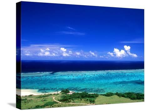 Beach--Stretched Canvas Print